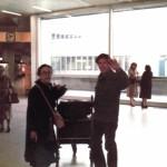 Grete Sultan und John Cage