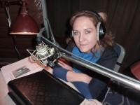 Simone Kermes im Studio